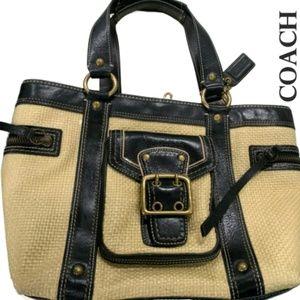 COACH Legacy Woven Handbag